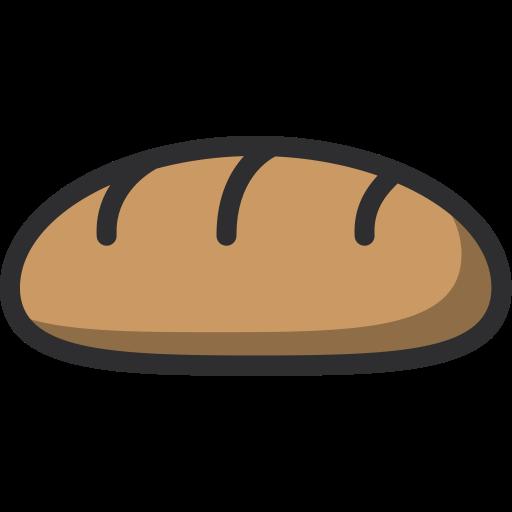 Food Dessert Bakery Baker Baguette Icon