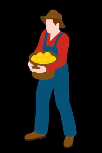 man people male farm farmer icon