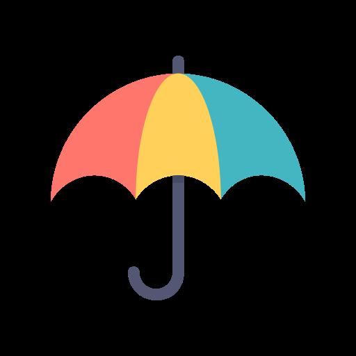Umbrella Sun Protection Rain Summer Icon