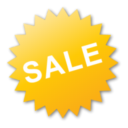 Label Yellow Sale Icon