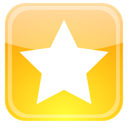 Badge Star Favorite Bookmark Icon