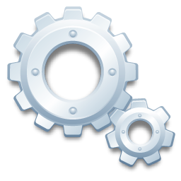 Cog Gear Process System Wheel Icon