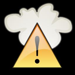Severe Weather Alert Icon