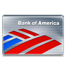 Of America Bank Card Credit Card Bank Credit Icon