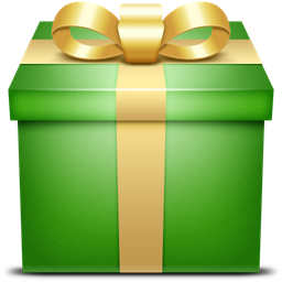 Green Present Gift Icon