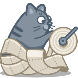 Paper Cat Icon