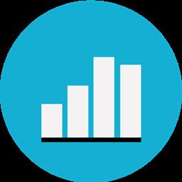 Two Keynote Chart Analytics Icon