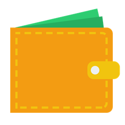 Money Wallet Cash Icon