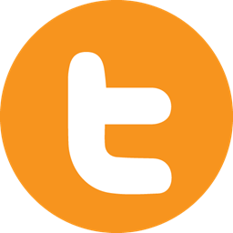Letter Twitter Icon