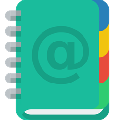 Book Address Icon