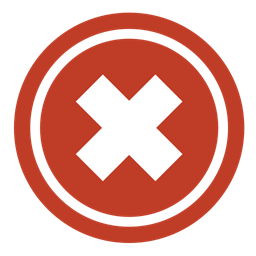 Clear Cancel Decline Remove Delete Close Stop Not Empty Exit Refuse Bad Icon