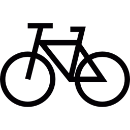 Cycling Cycle Sports Transport Bike Icon