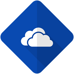 Storage Hdd Onedrive Data Network Drive Cloud Icon