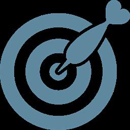 Objective Arrow Goal Marketing Achievement Success Target Icon