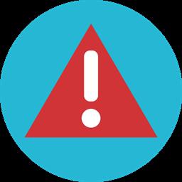 Warining Alert Error Attention Icon