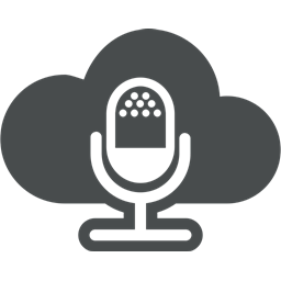 Entertainment Multimedia Cloud Computing Interview Cloud Microphone Mic Icon