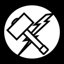 Thor Hammer Avangers Marvel Icon