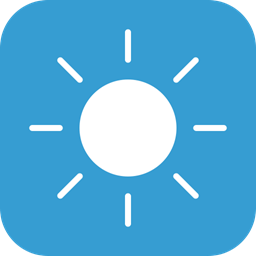 Sun Weather Sunny Clear Icon