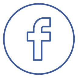 Facebook Neon Chat Line Share Circles Social Icon
