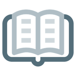 Book Learning Reading Education Knowledge Library Study Icon