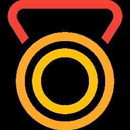 Prize Badge Medal Gold Trophy Reward Award Icon