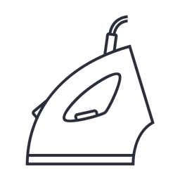 Tool Smoother Steam Ironing Iron Icon