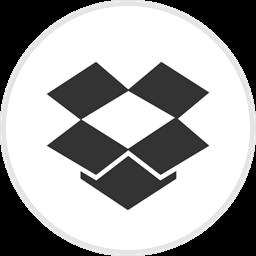 Online Drop Box Media Dropbox Social Icon