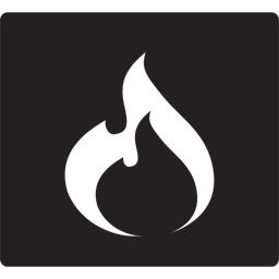 Flame Fire Hot Place Icon