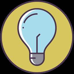 Bulb New Idea Check Light Bulb Electric Good Idea Icon