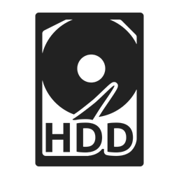 Storage Hard Disk Data Icon