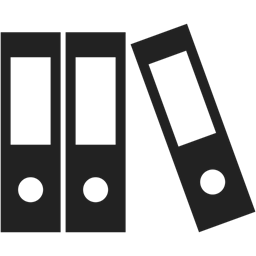 Binder Files Document Documents Data Icon