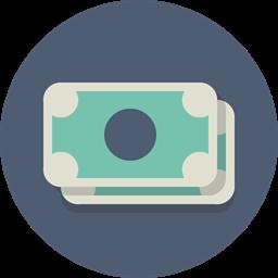 Currency Money Dollar Cash Icon