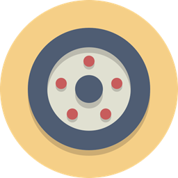 Wheel Car Wheel Tire Icon