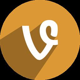 Vine V Icon