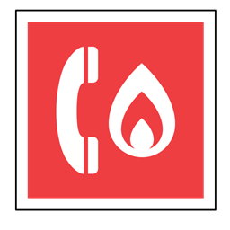 Telephone Sos Code Phone Fire Sign Emergency Icon