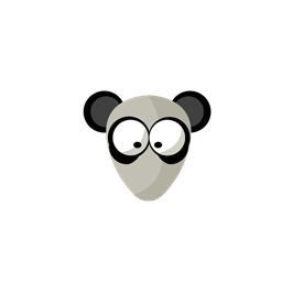 Face Wild Panda Animal Icon