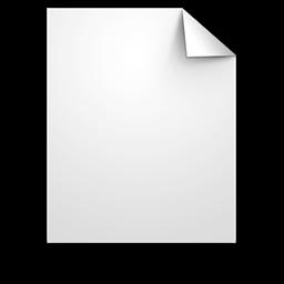 Generic Paper File Document Icon