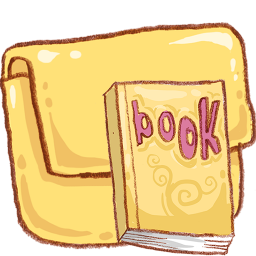 Reading Book Folder Read Icon
