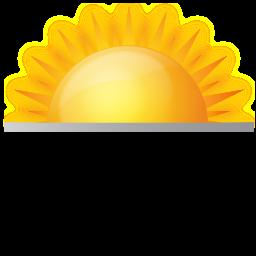 sunrise icon rh shareicon net Beach Sunrise Clip Art Sunrise Over Water Clip Art