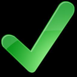 correct, ok, right, yes, positiv, check, accept, green icon