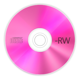 Cd Disc Rw Save Disk Icon