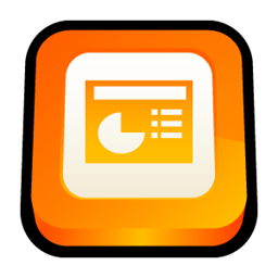 Microsoft Powerpoint Office Ppt Icon