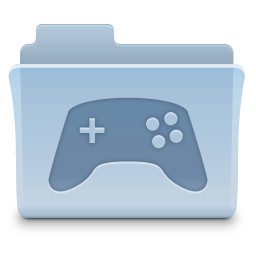 Gaming Game Folder Icon