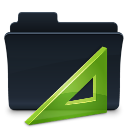 Badged Folder Project Icon