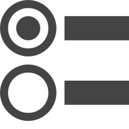 Circle Menu Button Interface Bars Multimedia Option Icon