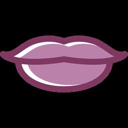 Kiss Femenine Lips Love Romantic Body Part Icon