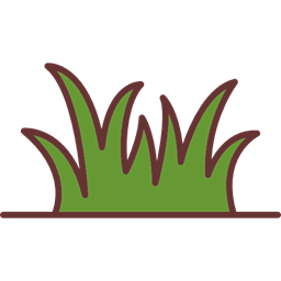 Grass Leaves Ground Grass Leaves Nature Soil Plant Icon