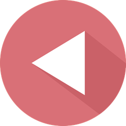 Arrows Back Button Video Player Previous Play Multimedia Option Music Player Directional Orientation Icon