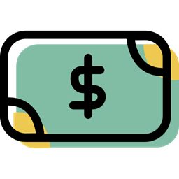 Banking Payment Method Money Dollar Symbol Business Investment Cash Icon
