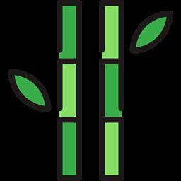Plant Japan Bamboo Botanical Nature Icon